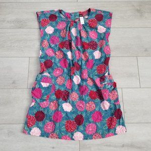 Tea Girls Floral Sleevless Pocket Dress